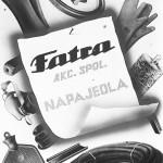 Nabídkové letáky z roku 1941.