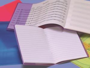 Aplikace fólií - obaly na školní sešity, Fatra
