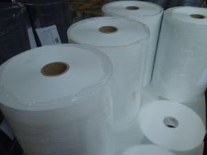 fatra folie z neměkčeného PVC - bílé nábaly