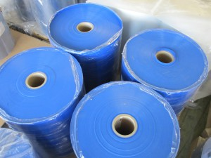 fatra fólie z neměkčeného PVC modré nábaly