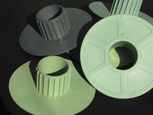 fatra vstřikování - ochranná plastová čela - kryty rolí