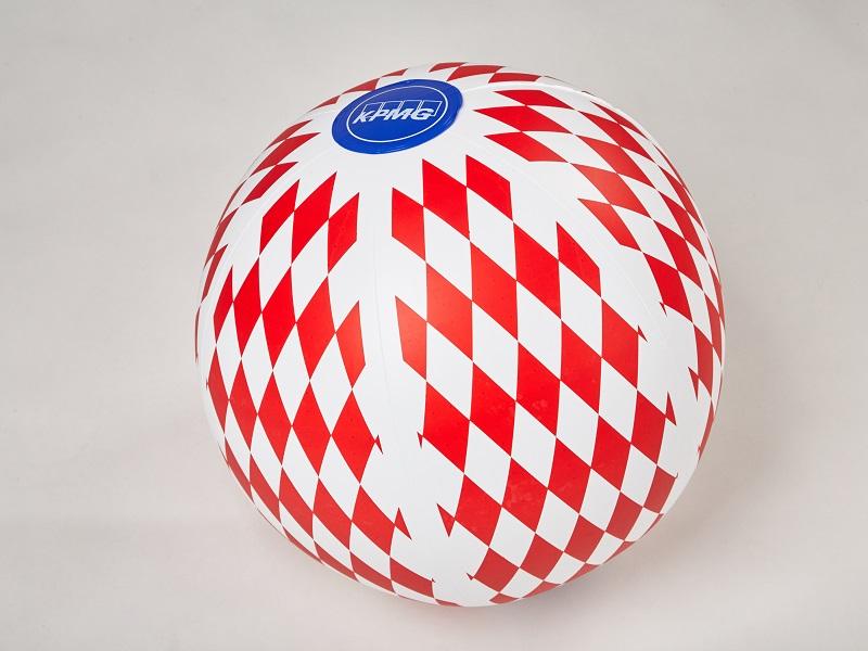 Nafukovací reklamní předmět - míč, Fatra
