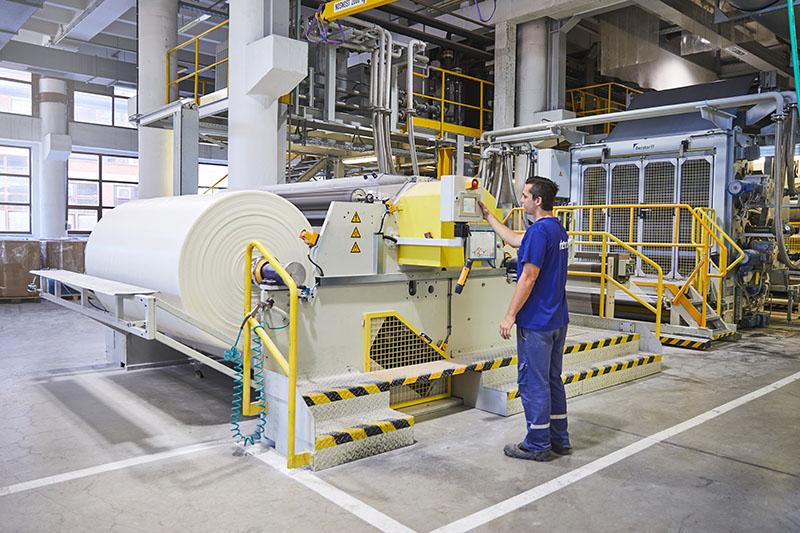 Výroba - hydroizolační fólie