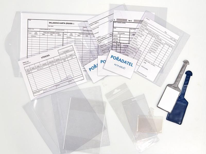 Folders, Etiketten, Verpackungen