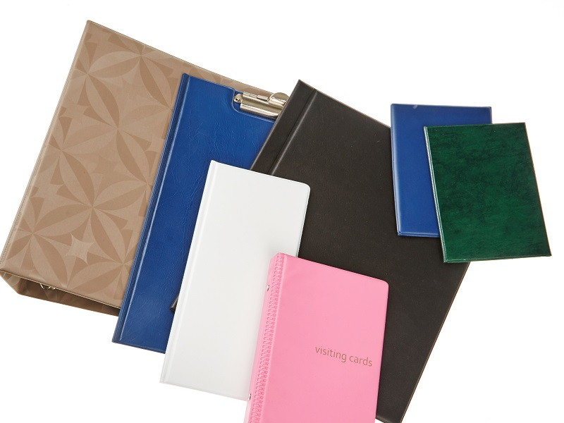 Office boards and folders
