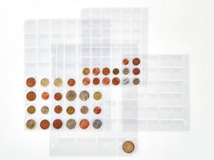Aplikace fólií - obaly na mince, Fatra