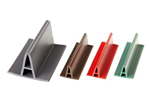 Plastic profiles for the construction industry, for optical breakdown foil roof, Fatra