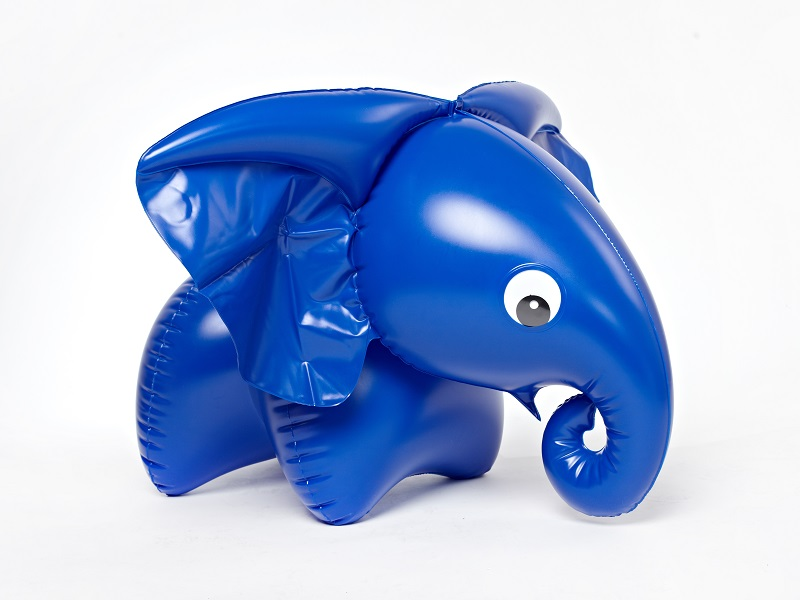 Inflatable toy FATRA elephant