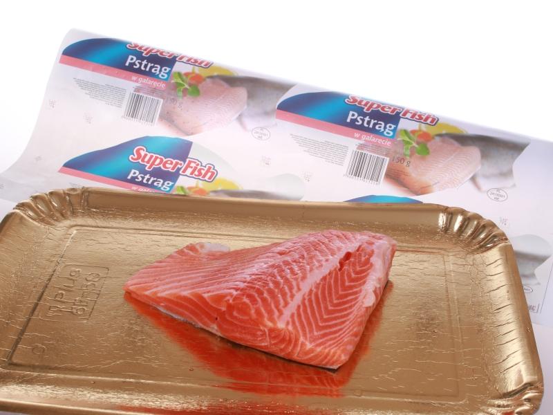 fatra folam BOPET - podložka - losos