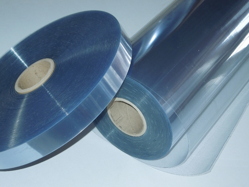 Foils from non-plasticized PVC