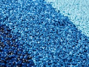 fatra regranulát modrý