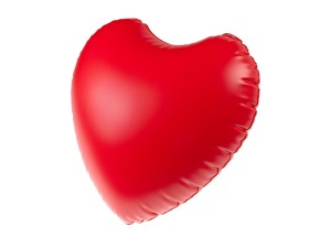 Promotional inflatable object Heart, Fatra