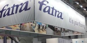 Výstavní stánek Fatry na výstavě podlah Domotex 2016