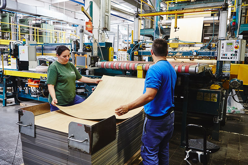 Výroba - podlahové krytiny