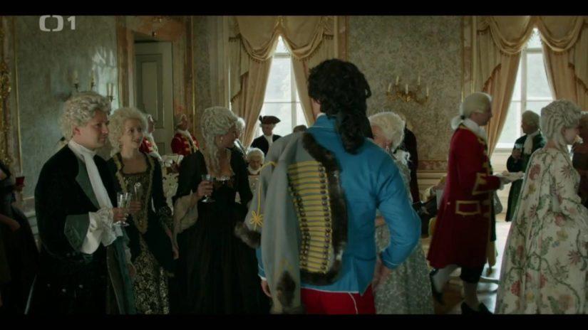 Prodejce profilů z Fatry ve filmu Marie Terezie