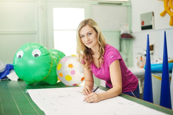 Veronika - technolog a designér svařovaných výrobků
