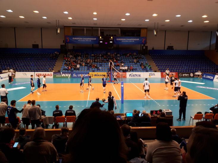 Zlín hostí mistrovství Evropy ve volejbale do 18 let a Fatra je u toho
