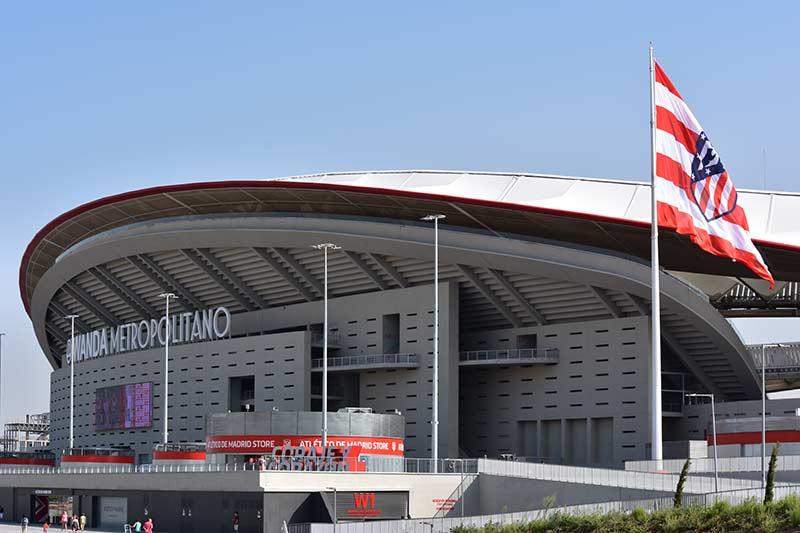 Profily Fatry na fotbalovém stadionu Atletika Madrid