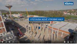 Video – výstavba nové válcovny