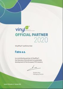 VinylPlus - Official partner 2020