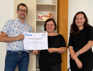 We have supported the Centre for Children's Hearing